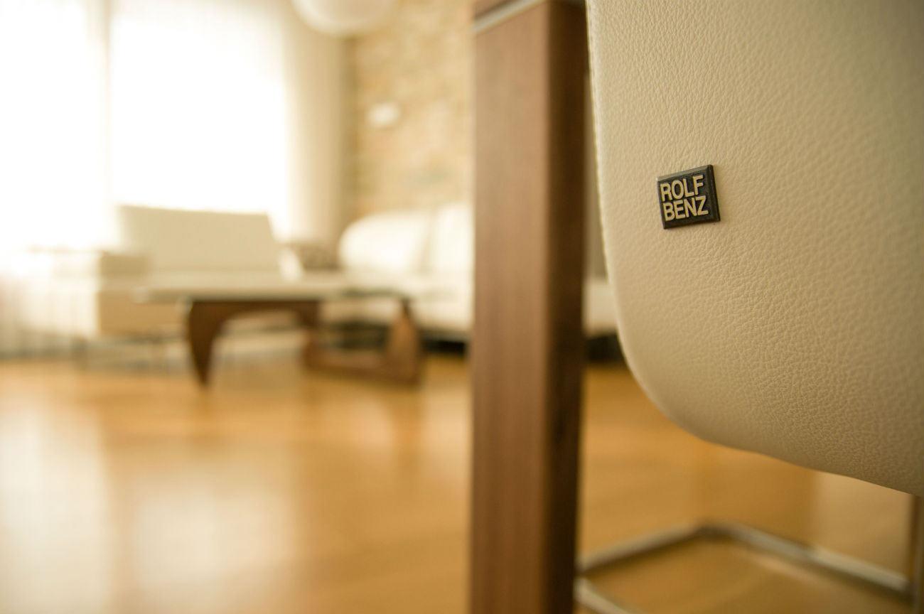 Detail židle Rolf Benz