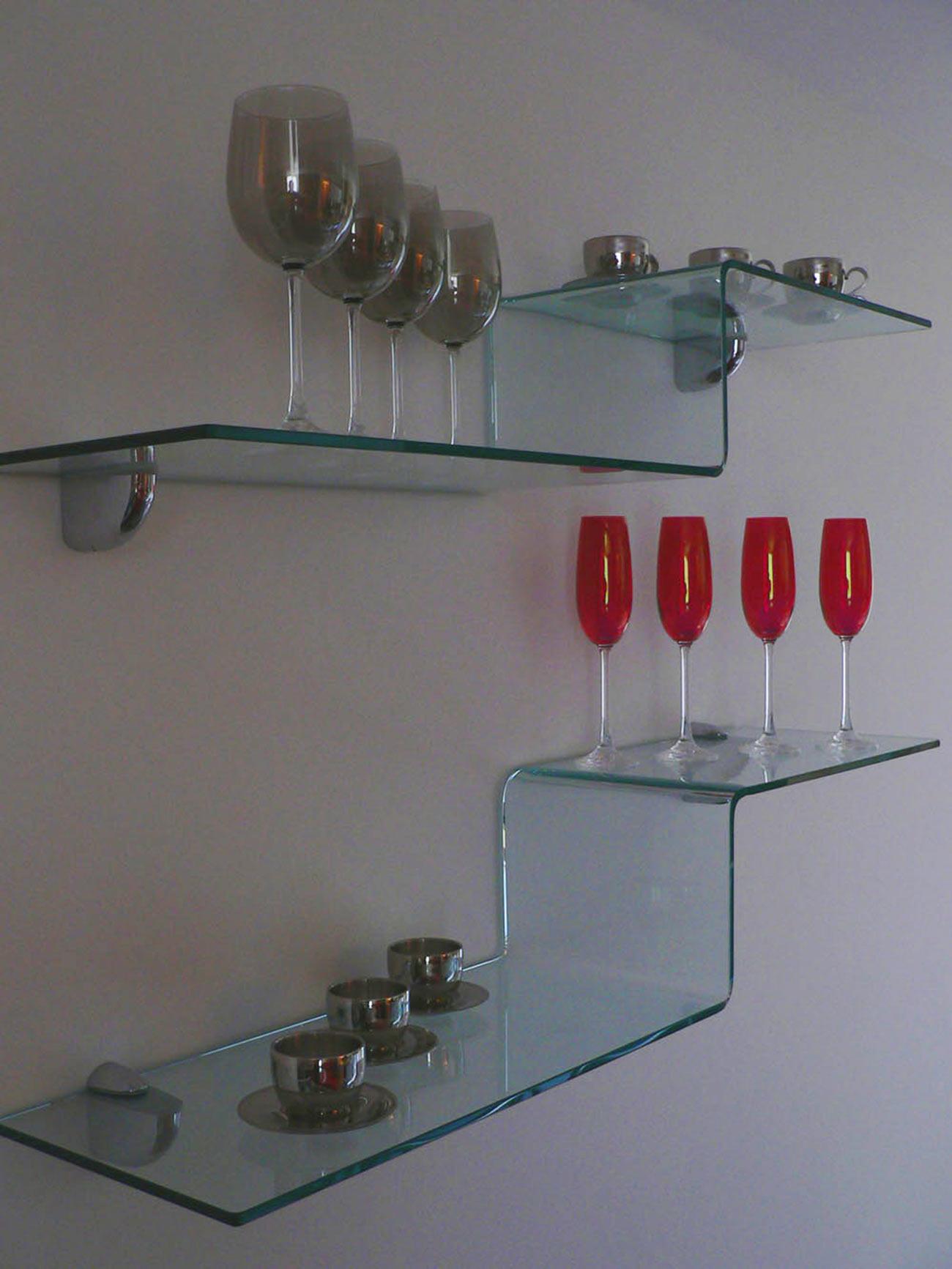 Detail z vybavení bytu. Italská firma Flai.