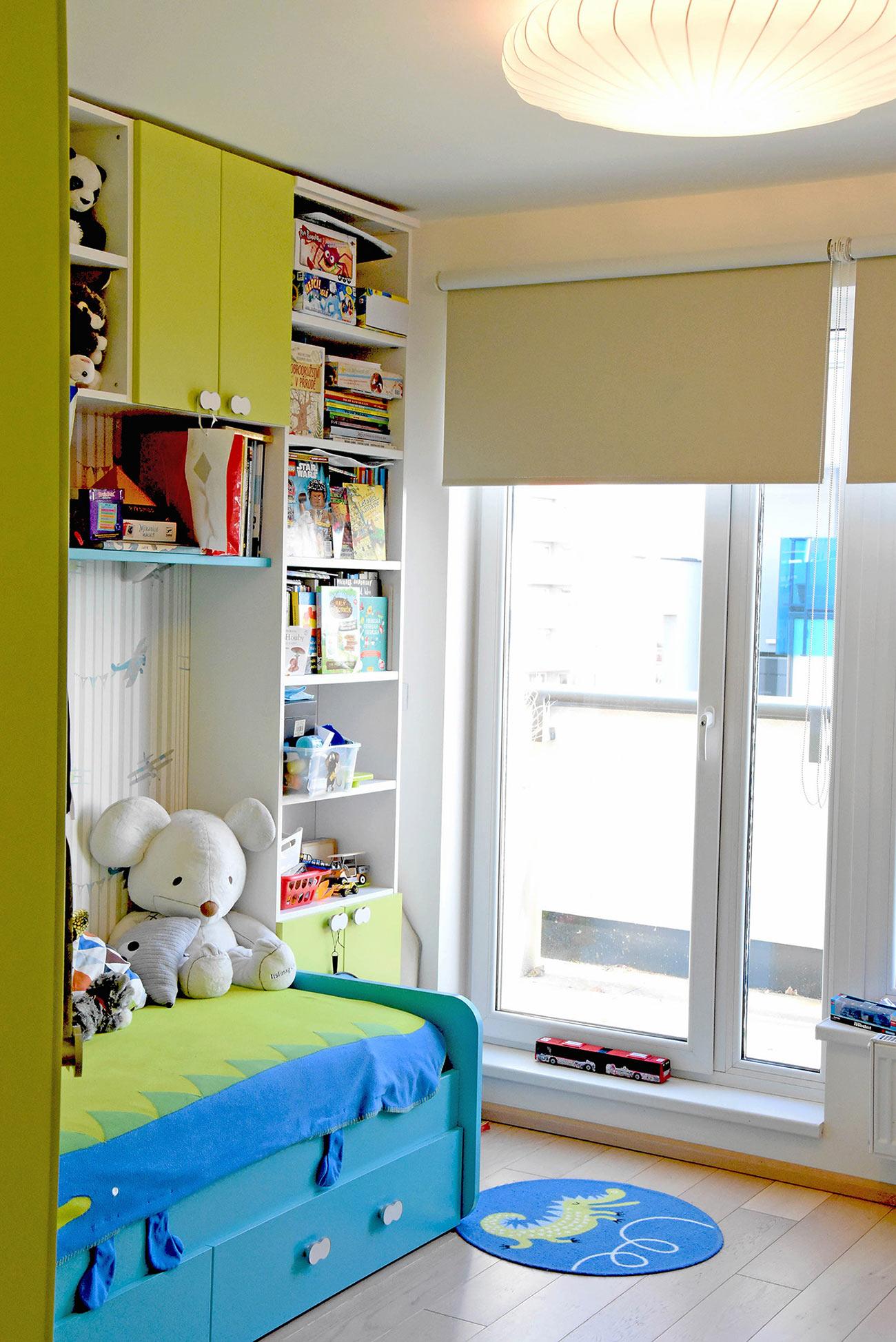 Dětský pokoj a barvy v hlavní roli.