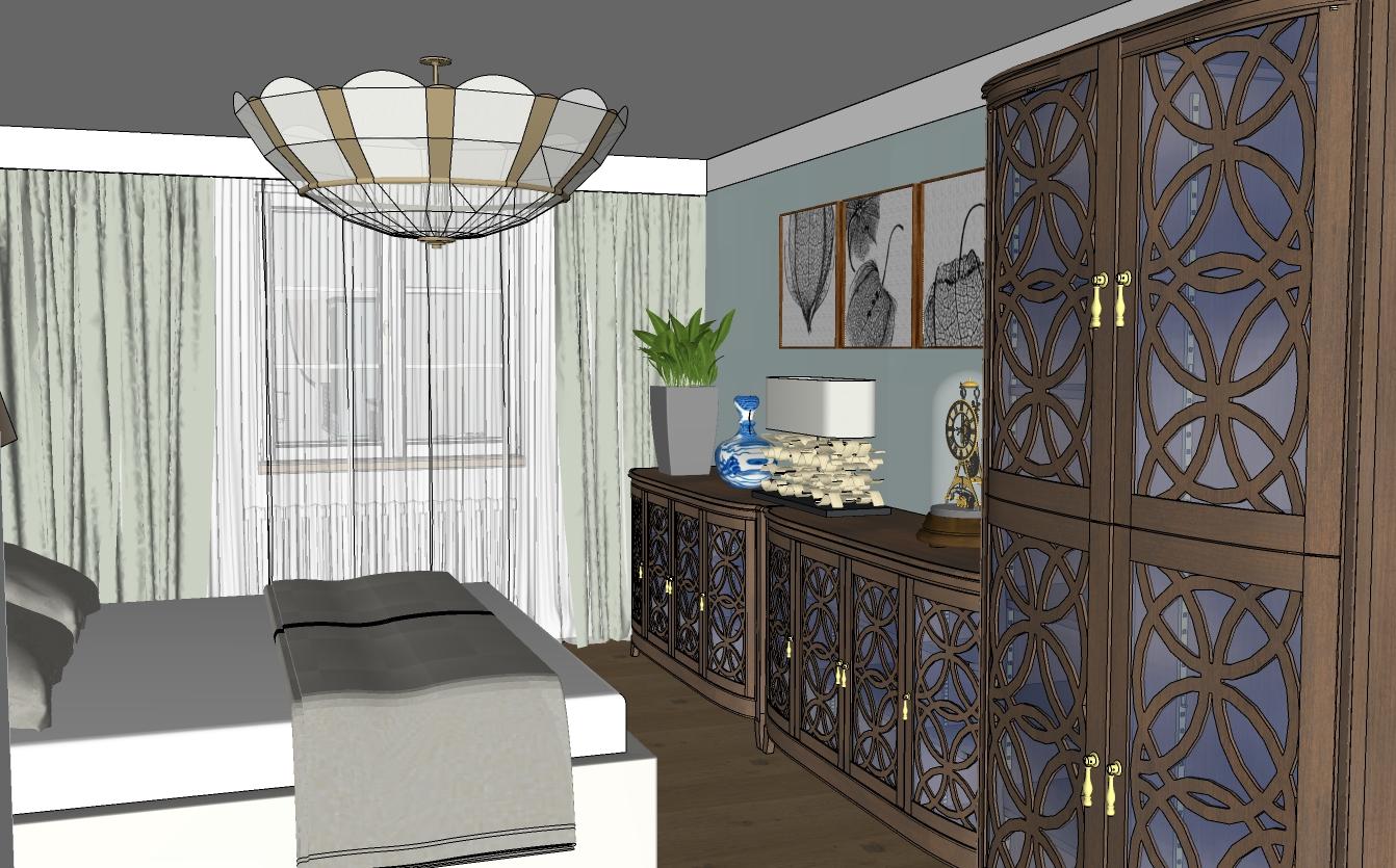 Žižkov, ložnice1